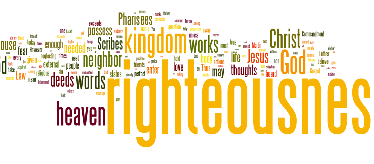 RESTORE HIS RIGHTEOUSNESS TO MAN